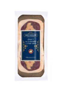 Palet de canard au foie gras