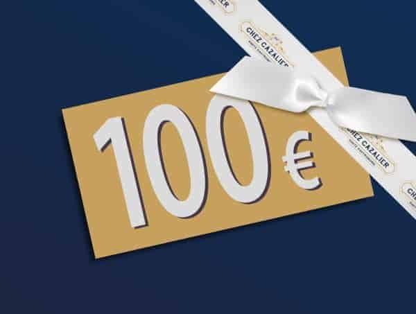 Carte Cadeau Chez Cazalier d'une valeur de 100€