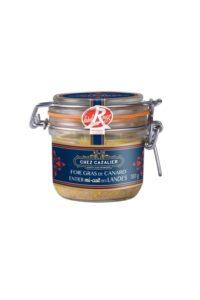 Foie gras de canard entier mi-cuit des landes 180 g