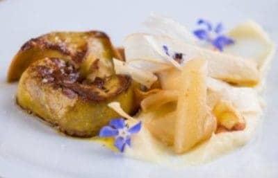 Foie gras aux salsifis