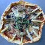 Pizza Landaise au Magret de Canard Fumé