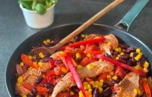 Aiguillettes de canard façon chili con carne