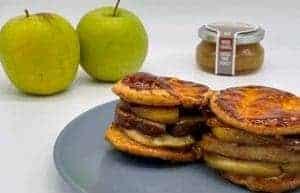 Feuilleté au Foie gras de canard et pommes