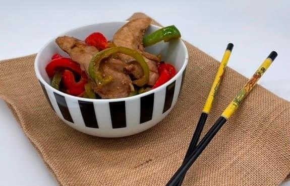 Aiguillettes façon wok